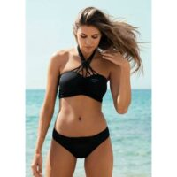 Freya Macrame Bandeau Bikini Oberteil