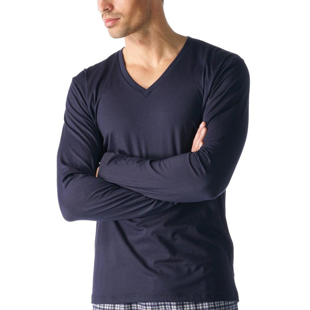 Mey Serie Club Coll. Shirt 1/1 Arm mit V-Ausschnitt
