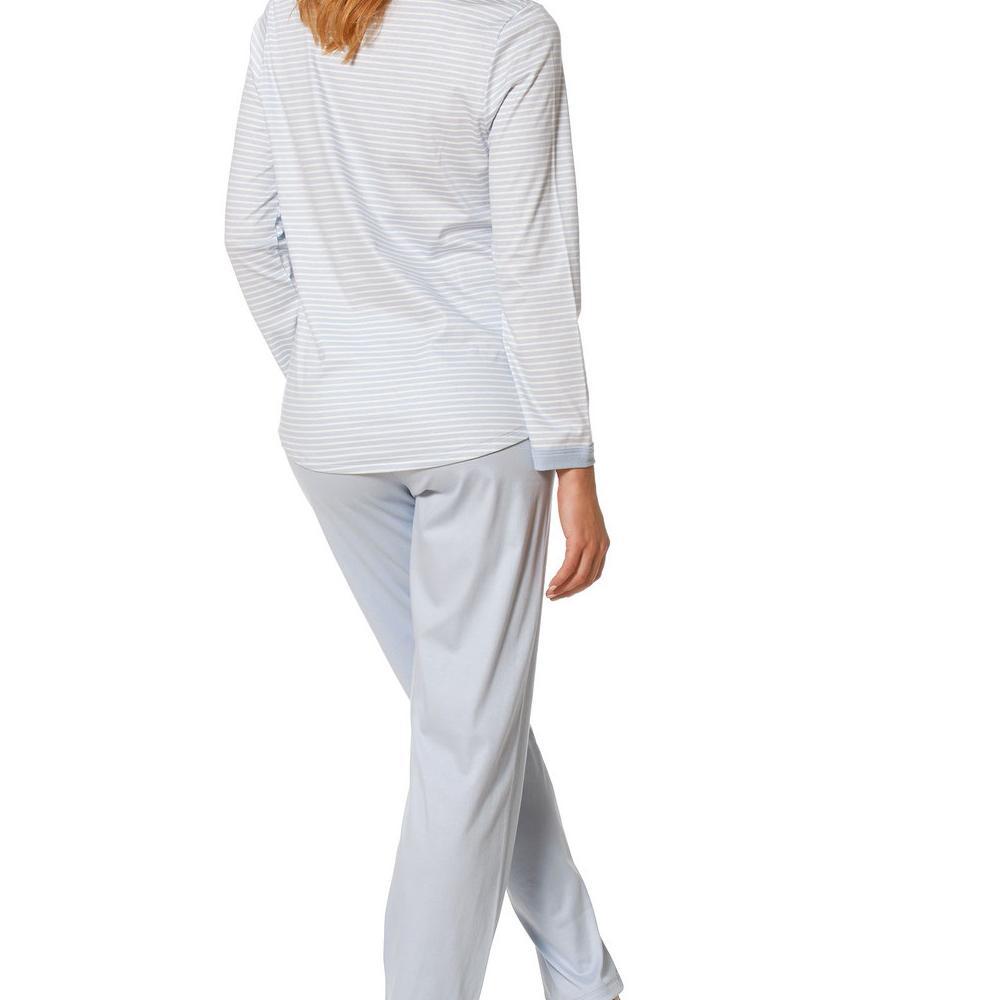 Mey Gestreifter Pyjama lang